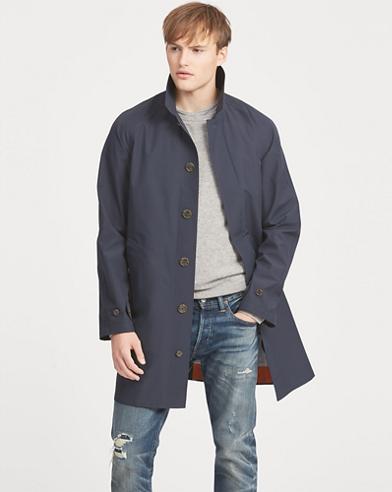 Water-Resistant Walking Coat
