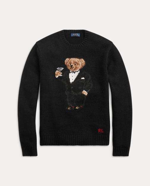 Polo Ralph Lauren Martini Bear Wool Sweater 2 e93b70d9cc11