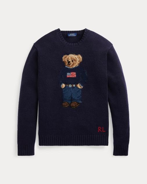 super popolare 30cbf cbee8 The Iconic Polo Bear Sweater - Ralph Lauren