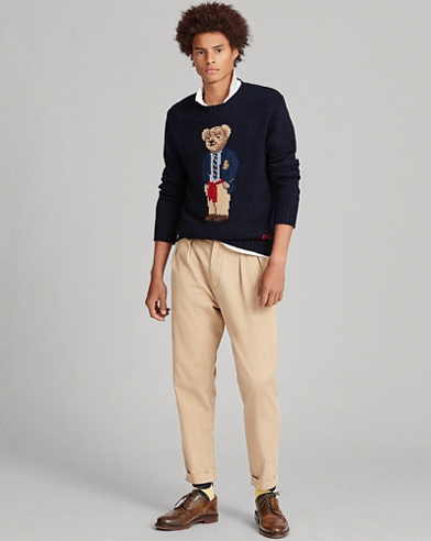 Preppy Bear Sweater
