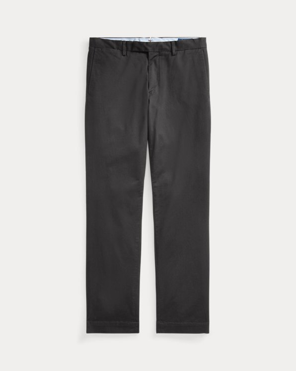 Stretch Straight Fit Twill Chino