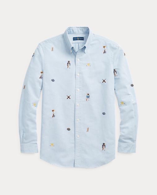 Qualität und Quantität zugesichert geschickte Herstellung Stufen von Classic Fit Cricket Bear Shirt