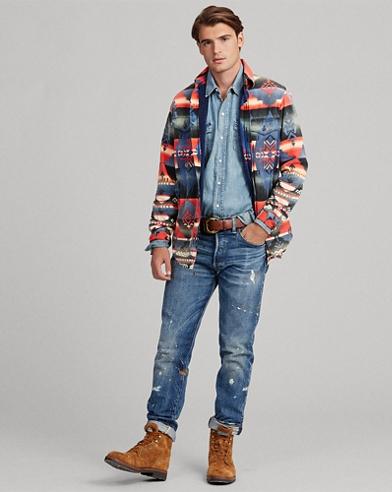 Southwestern Shirt Jacket