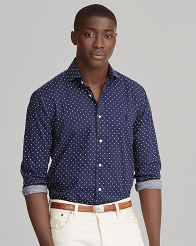 Classic Fit Polka-Dot Shirt