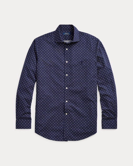 neue Version klar und unverwechselbar offizielle Seite Classic Fit Polka-Dot Shirt
