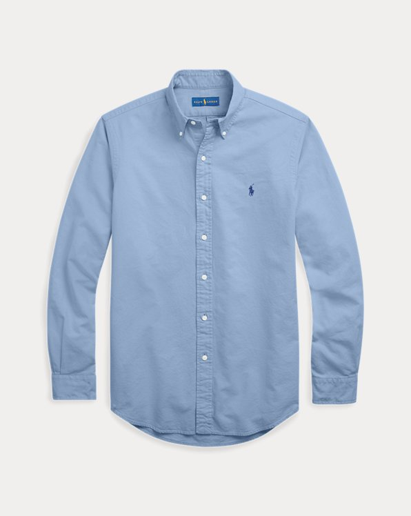 Garment-Dyed Oxford Shirt