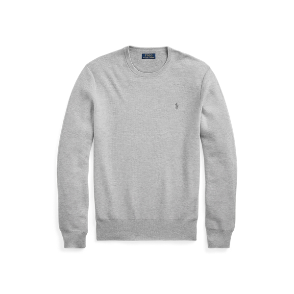 폴로 랄프로렌 Polo Ralph Lauren Cotton Crewneck Sweater,Andover Heather