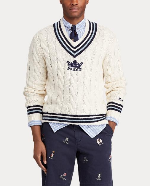 72dadd31598da Polo Ralph Lauren Pull de cricket en coton mélangé 4