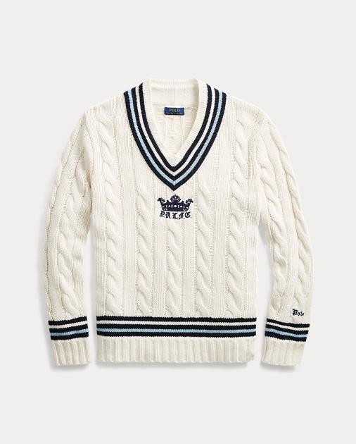 7988b4694de17 Polo Ralph Lauren Pull de cricket en coton mélangé 2