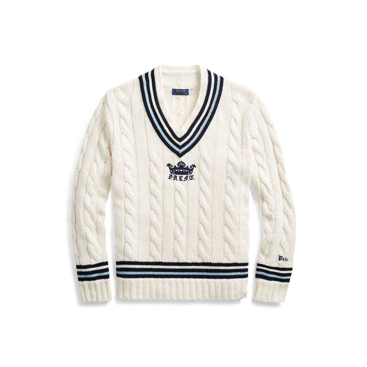b24531e026c92 Pull de cricket en coton mélangé