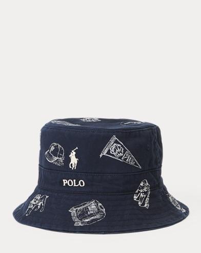 631bf6198cd Reversible Chino Bucket Hat. Polo Ralph Lauren