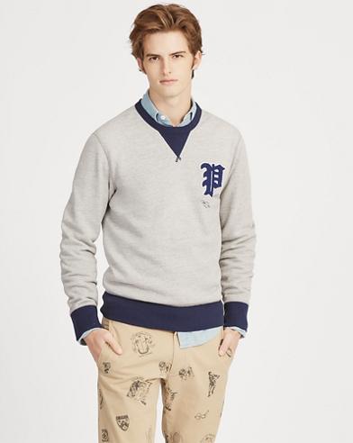 Sweatshirt aus Baumwollfleece