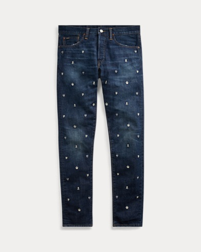 Sullivan Slim Embroidered Jean