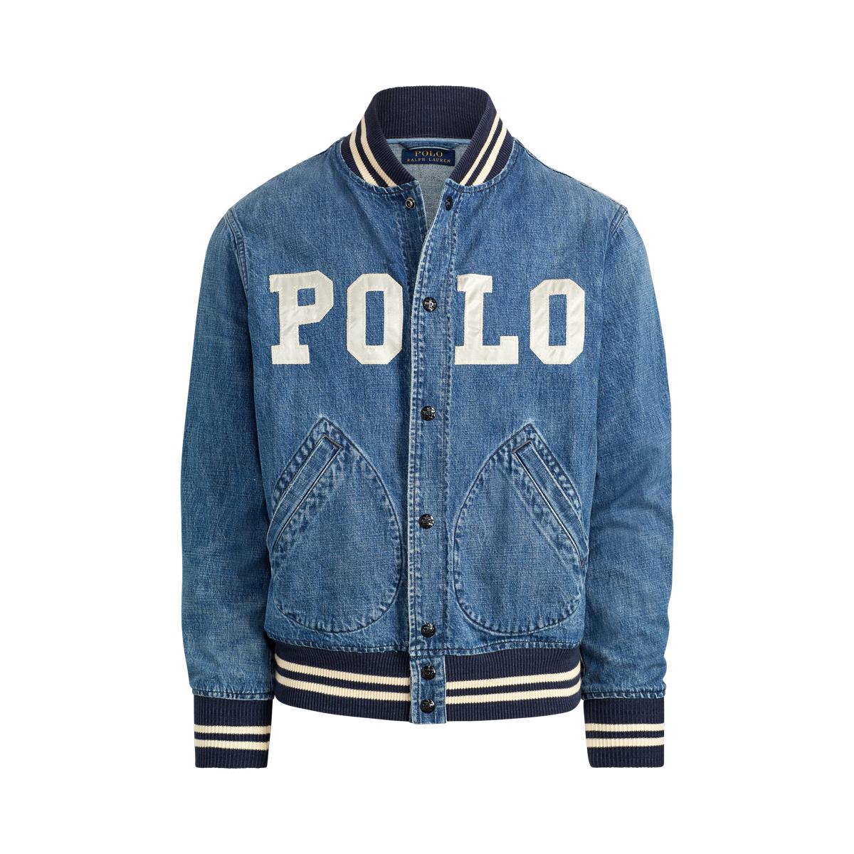38bc421d0f83 Varsity-Inspired Denim Jacket