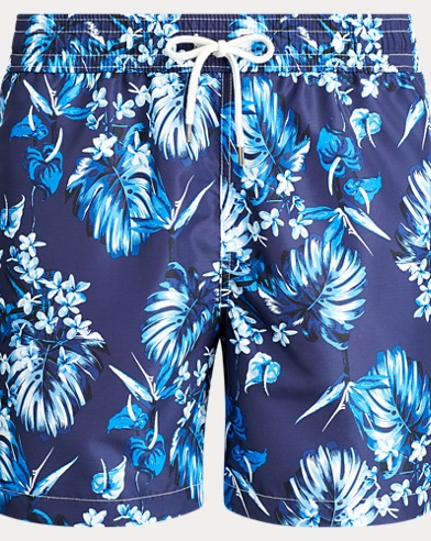 Traveller Floral Swim Trunk