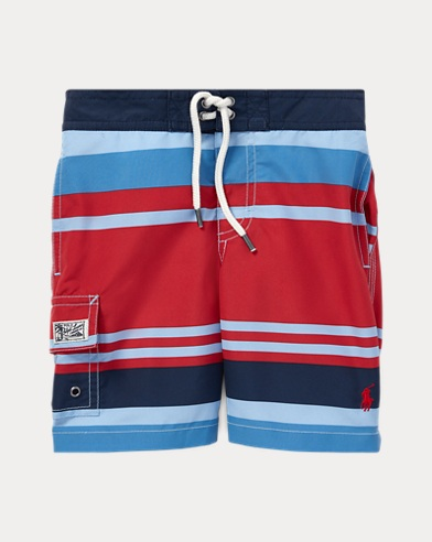 Kailua Striped Swim Trunk