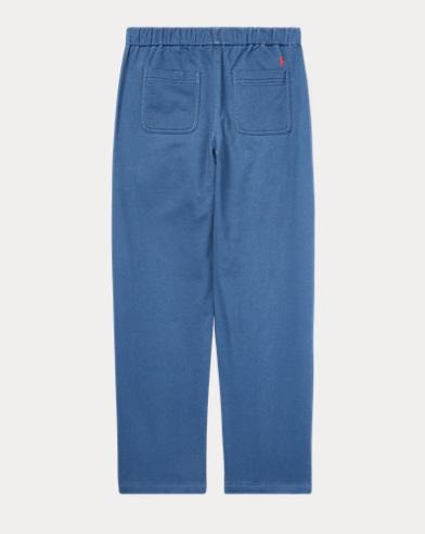 1ebbddef8857eb Pantalon fuselé en coton stretch. couleur (2)  Bleu Clancy ...