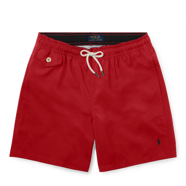 Vintage Men's Swimsuits – 1930s to 1970s History Traveller Swim Trunk �39.00 AT vintagedancer.com