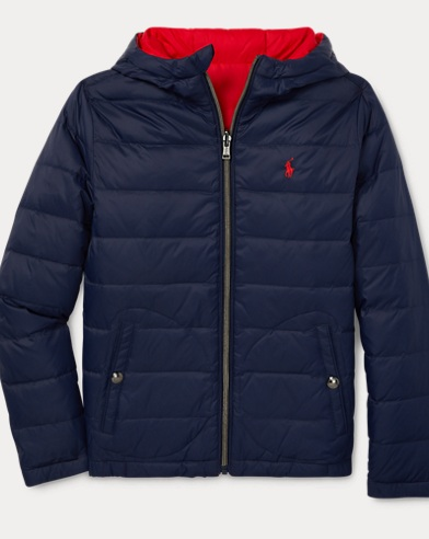 Reversible Quilted Down Coat
