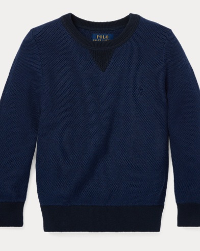 Cotton Crewneck Jumper