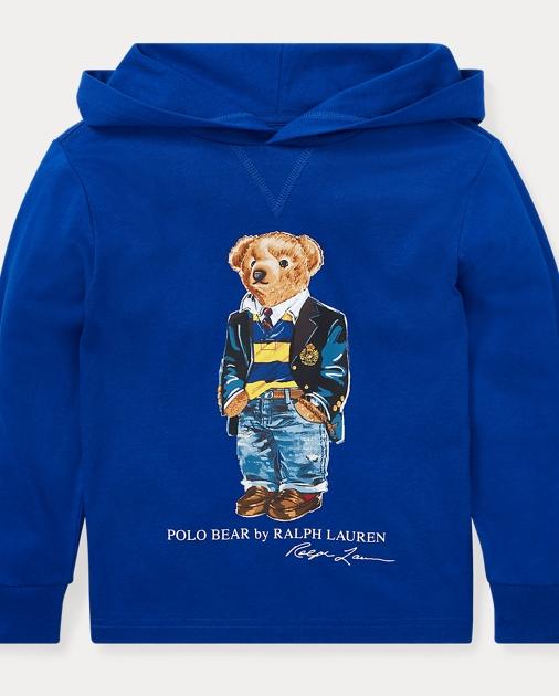 5ab2f485 Polo Bear Hooded T-Shirt