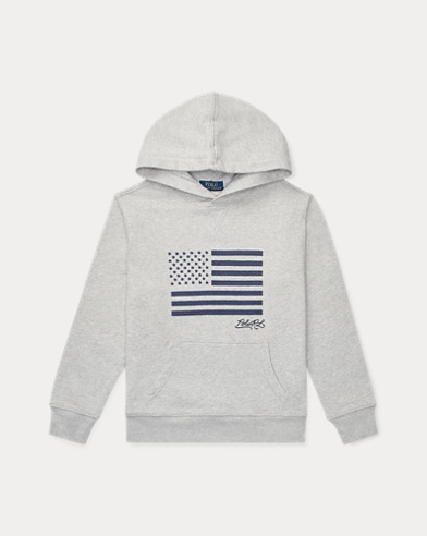 Flag Cotton Terry Hoodie