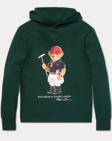Polo Bear Hooded T-Shirt