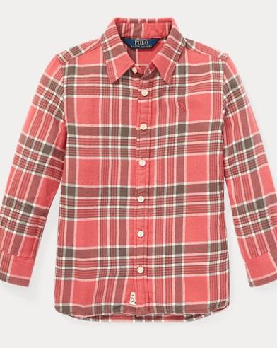 Camisatipo túnica a cuadros