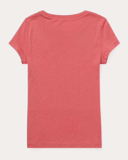 GIRLS 7-14 YEARS Cotton-Modal Crewneck Tee 2