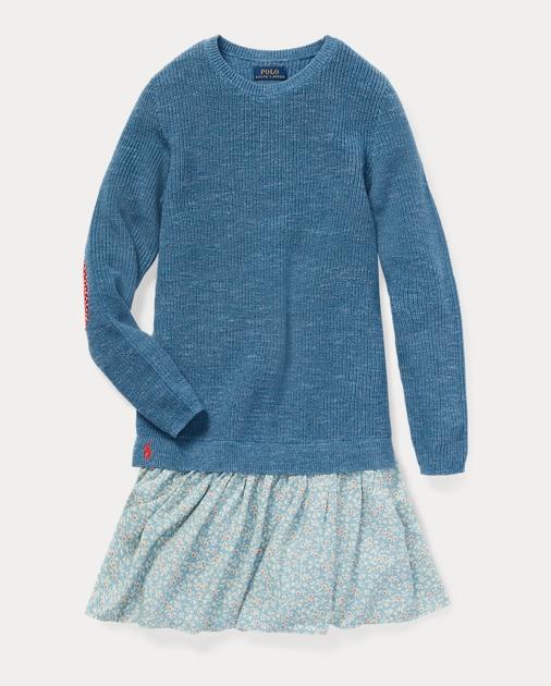 28e19801a Layered Sweater Dress