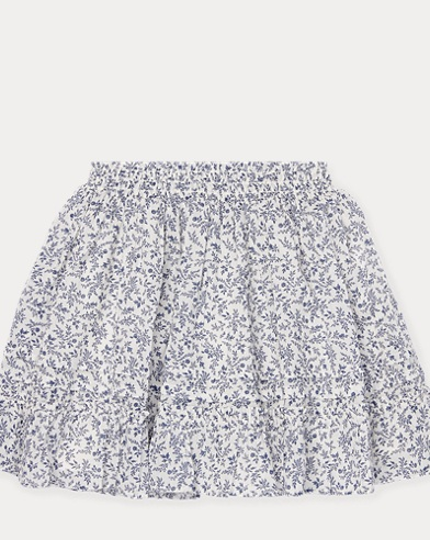 Floral Cotton Skirt