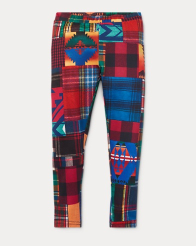 Patchwork Stretch Legging