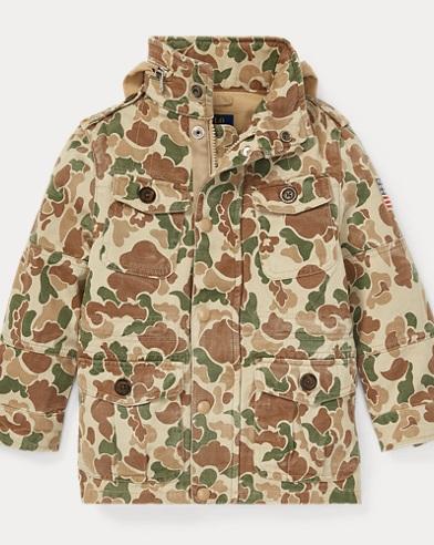 Camo Chino Field Jacket