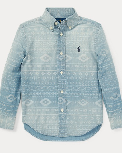 Southwestern Chambray Shirt