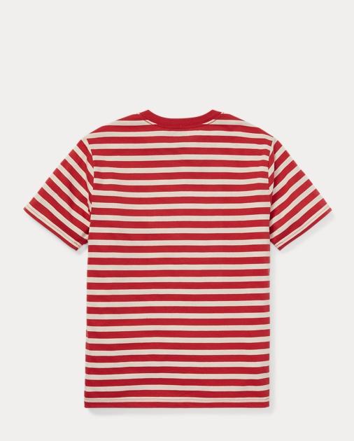 636f6912d Boys 8-20 Striped Jersey V-Neck T-Shirt 2