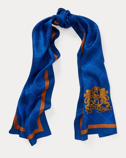 a9175722bf Crest Silk Twill Scarf