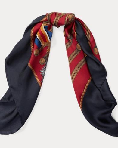 Military Silk Scarf