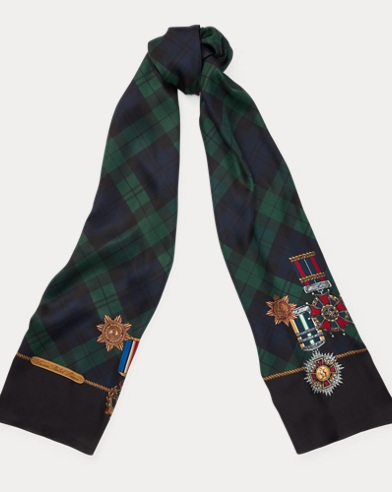Military Oblong Silk Scarf