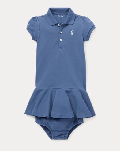 Peplum Polo Dress & Bloomer