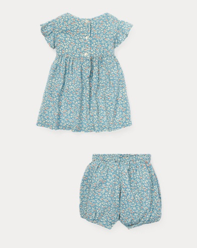 a1b750432712 Baby Girls' & Infant Outfits Sets & Gift Sets | Ralph Lauren