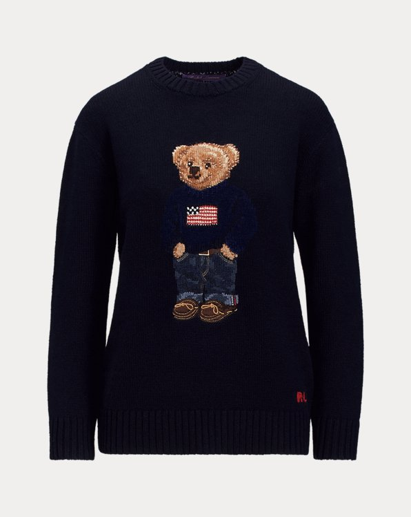Polo Bear Cashmere Jumper