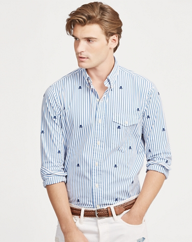 Camisa a rayas Classic Fit