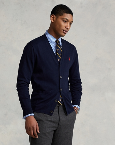 c8c79f7f8 Cotton V-Neck Cardigan. Take 30% off. Polo Ralph Lauren