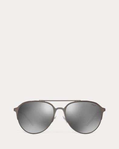 Verspiegelte Pilotensonnenbrille