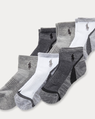 Marled Quarter Sock 6-Pack