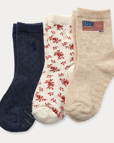 Flag Sock 3-Pack
