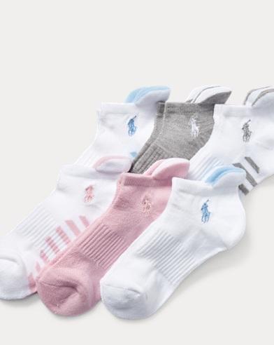 Cushioned Heel Low Sock 6-Pack