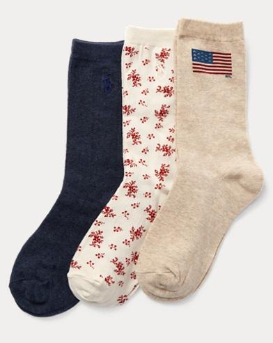 Flag Sock 3-Pack