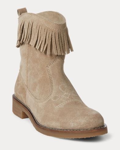 Zyla Fringe Suede Boot