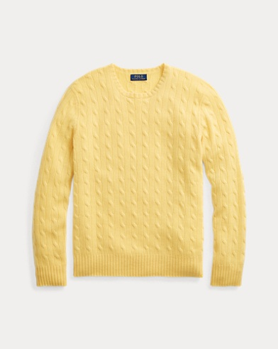 Cable-Knit Cashmere Jumper